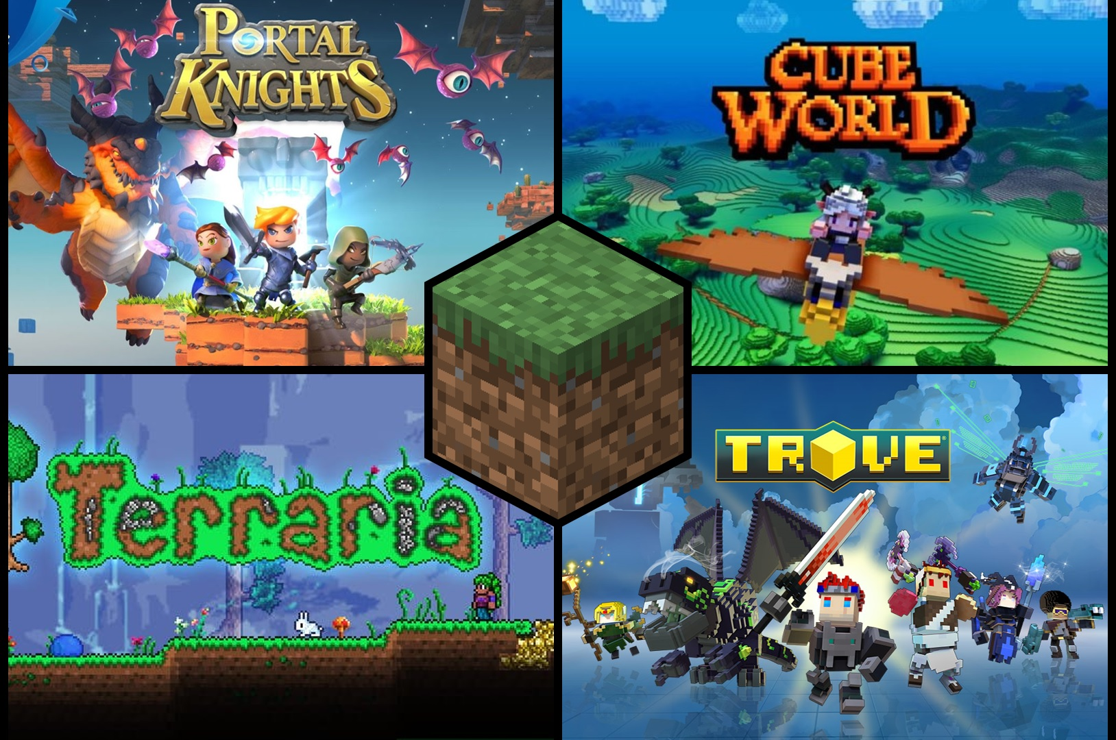 Best Games Like Minecraft to try in 11  Gamepur