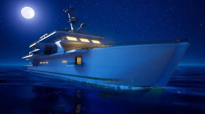 Yatch in Fornite Chapter 2 Season 2