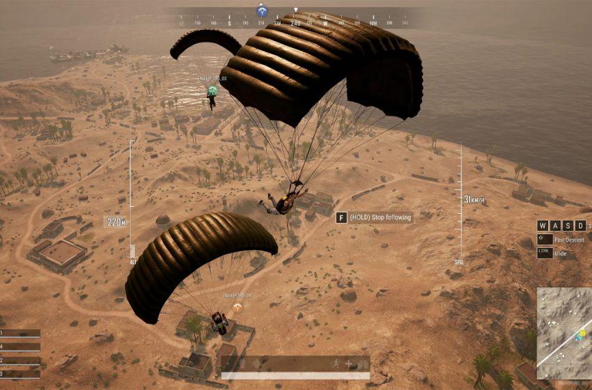 How to follow a teammate's parachute in PUBG