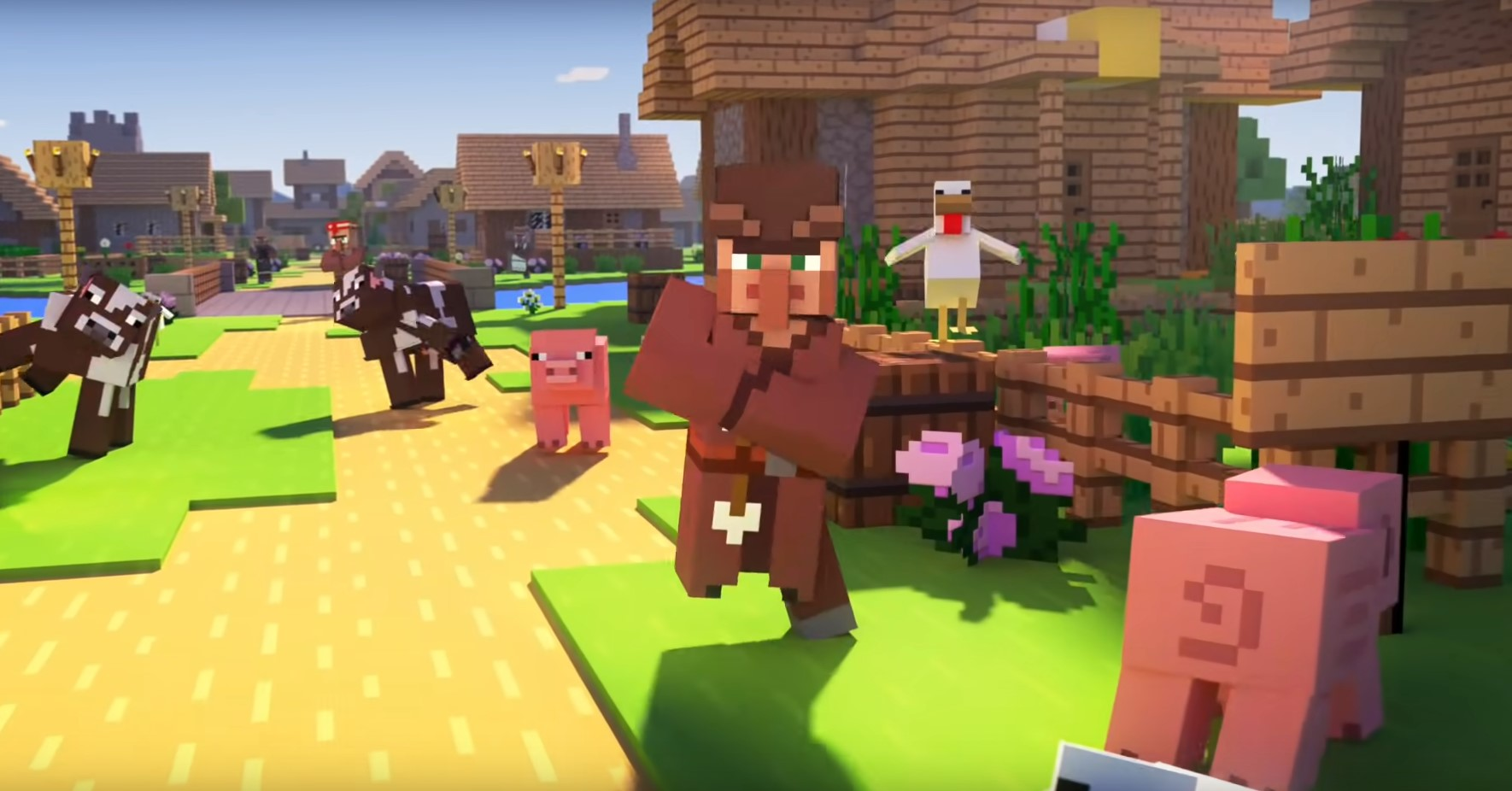 How to Find a Village in Minecraft  On Foot and in Creative Mode