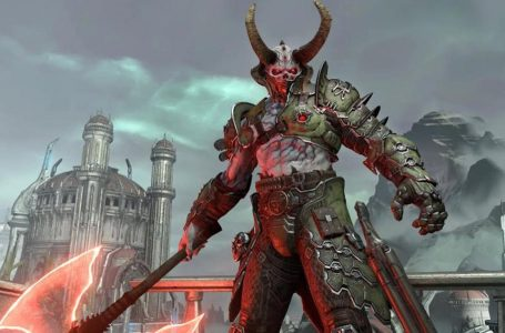 High-octane Doom Eternal launch trailer reveals building-sized boss