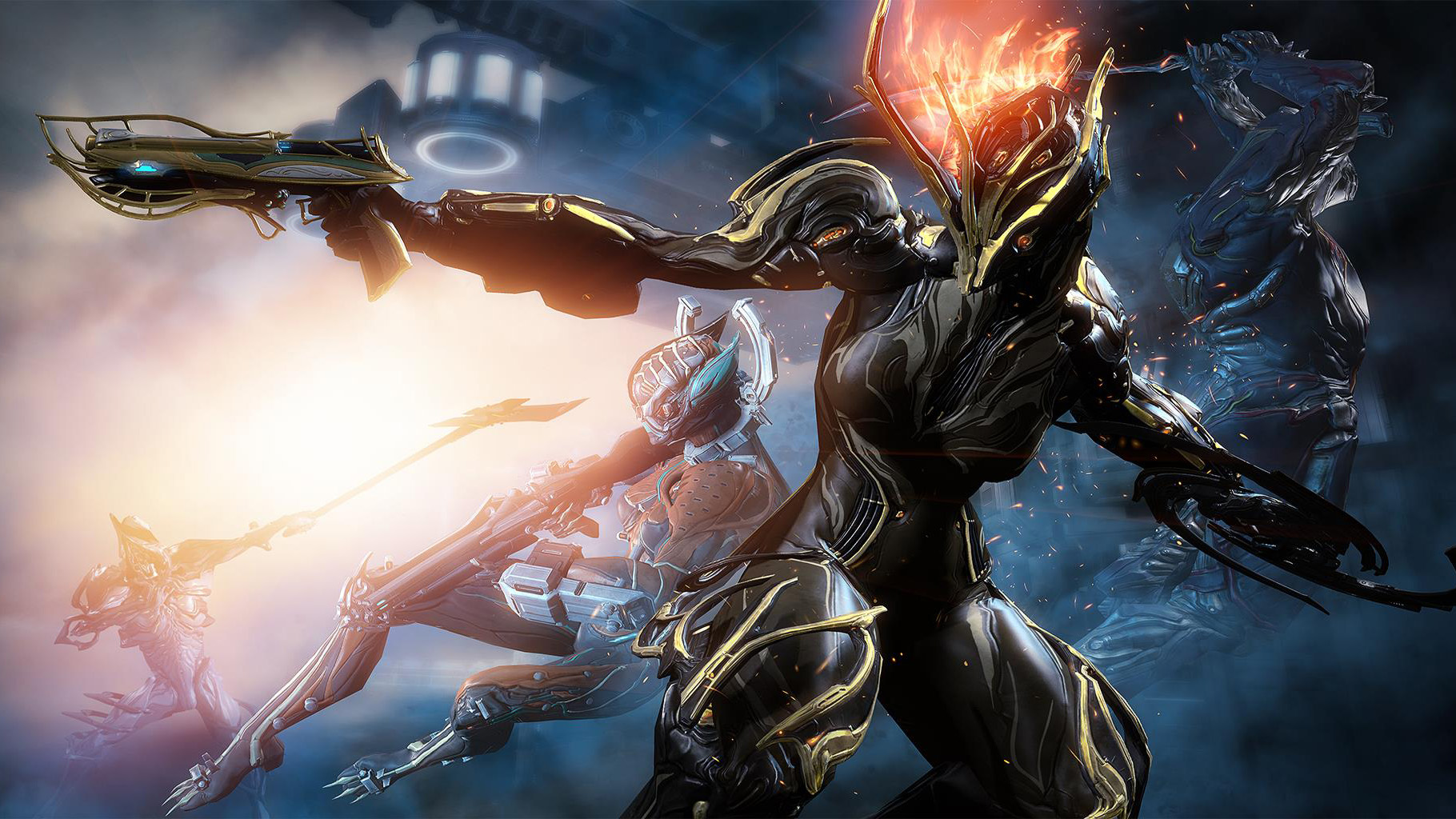 How to bullet jump in Warframe