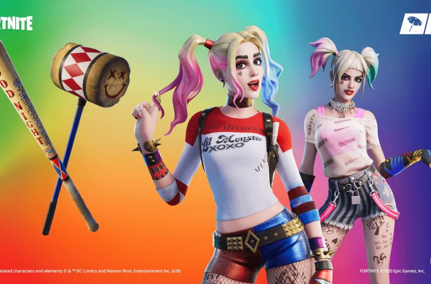 Harley Quinn makes her grand entrance in Fortnite today