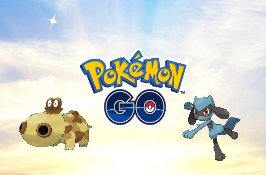 Pokemon Go's Sinnoh Region Celebration Event, Featuring Shiny Riolu and Hippopotas