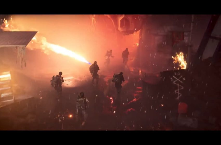 New Division 2 DLC trailer hints at upcoming specialization, and it involves a flamethrower