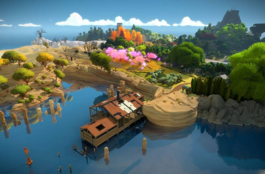 The Witness: Walkthrough Part 6 – Quarry, Laser beam and Sawmill