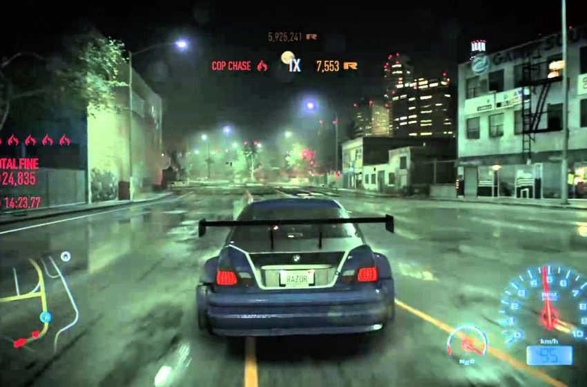 "Need for Speed: The Run ""Most Wanted Challenger"" trailer"