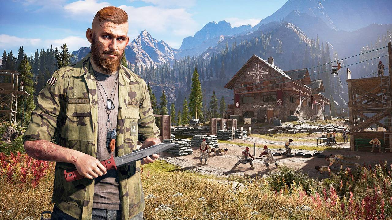 Far Cry New Dawn All 10 Outpost Locations Guide Marked On Map Gamepur