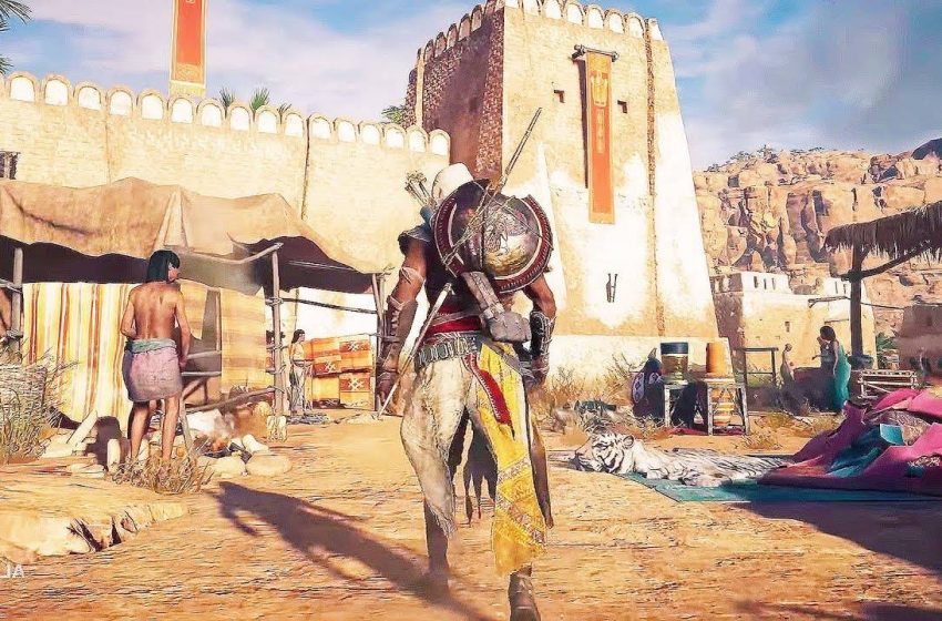 5 Tips On How To Infiltrate Forts In Assassin's Creed Origins