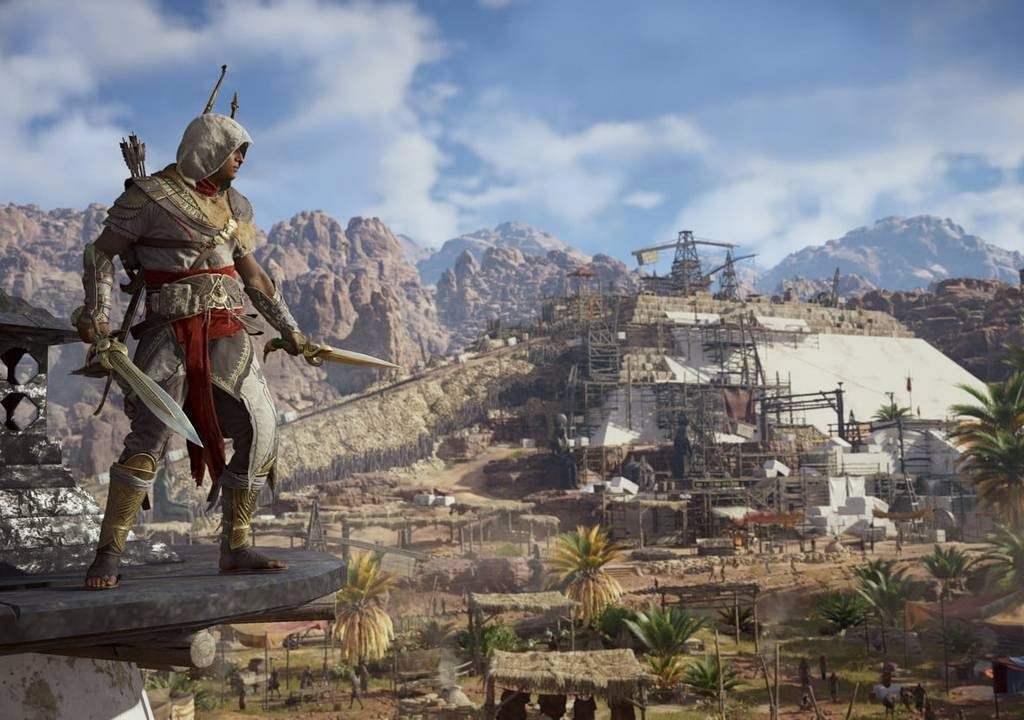 Assassin S Creed Origins Full Map Revealed Looks Bloody Massive