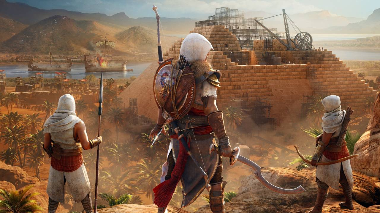 Assassin S Creed Origins Legendary Isu Armor In Secret Sphinx