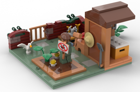 A fan proposed Untitled Goose Game Lego set could become reality