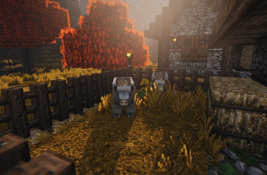 How to Harvest Honey and Honeycombs from a Bee Nest in Minecraft