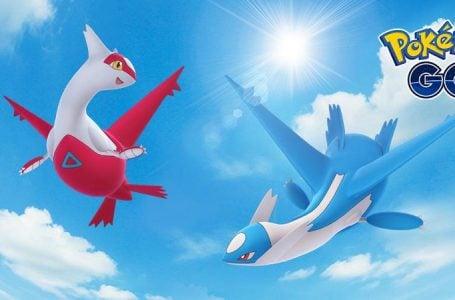 Latias and Latios soar back into Pokémon Go for special Raid Weekend event