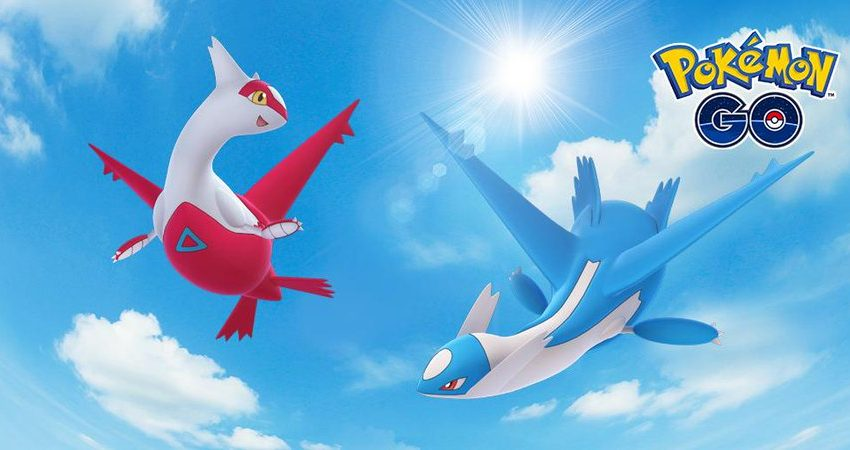 Latias and Latios soar back into Pokémon Go for special Raid Weekend event