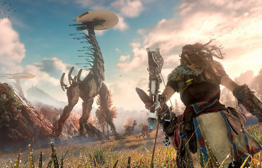 What is the release time for Horizon Zero Dawn on PC?