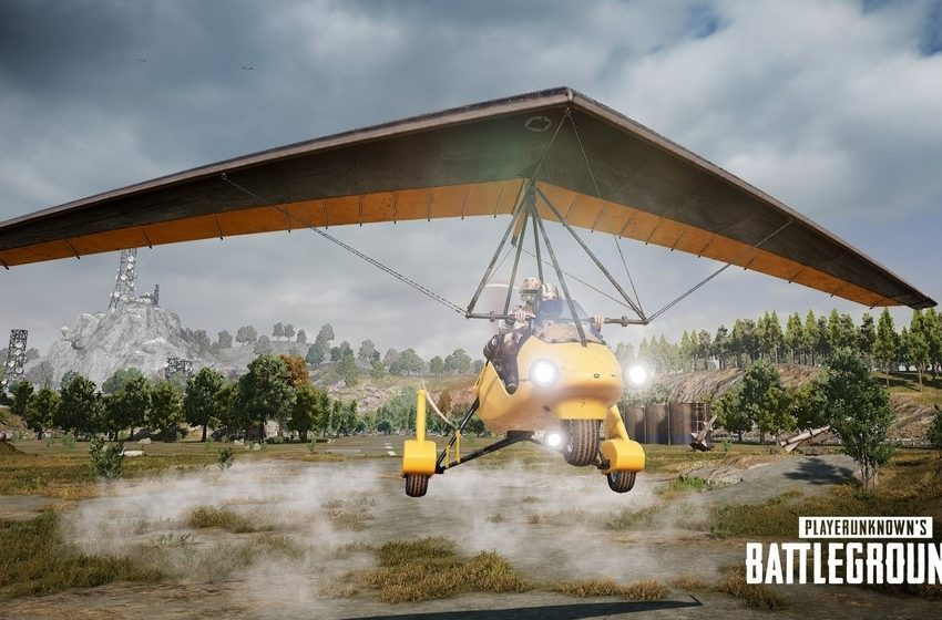 Where to Find Motor Gliders in PUBG