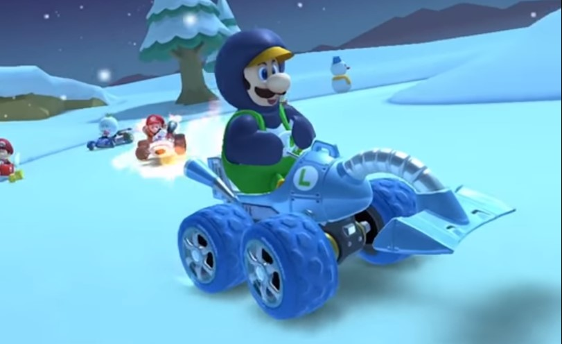 How to Cause Drivers to Crash 5 Times While Underwater in Mario Kart Tour