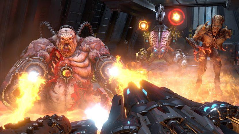 Demon Weak Points in Doom Eternal