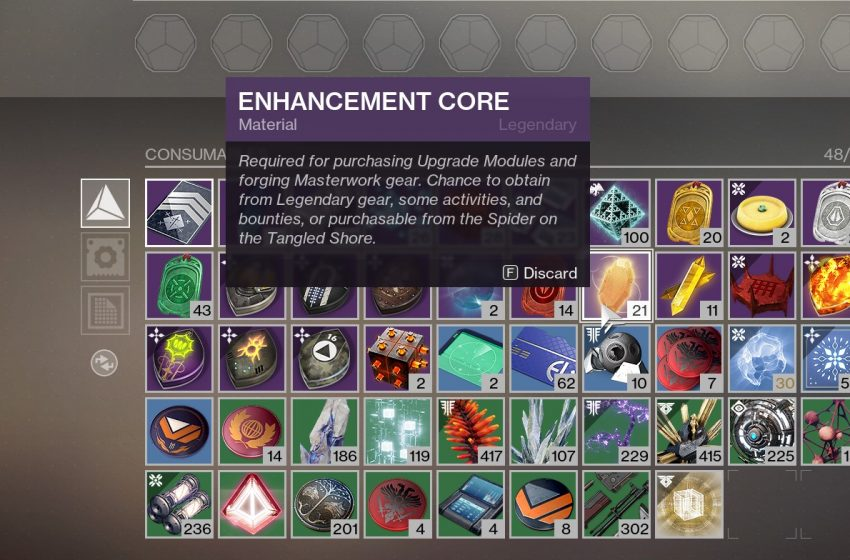 How to Get And Farm Enhancement Cores in Destiny 2