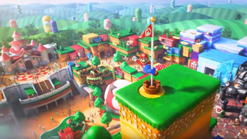 Super Nintendo World Building