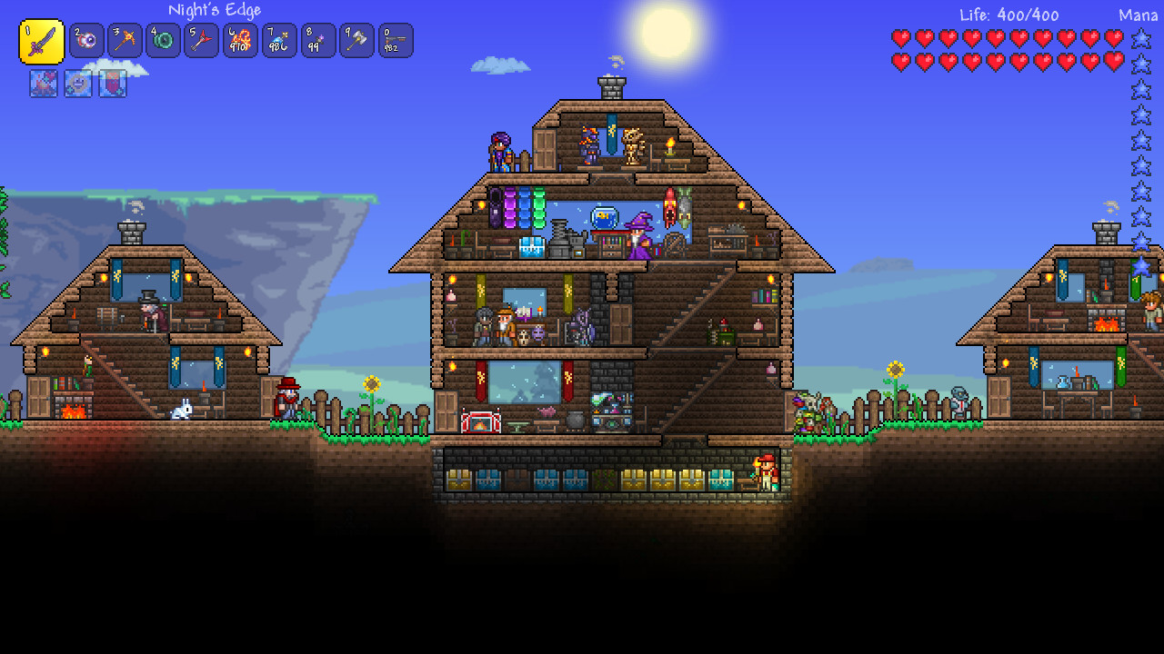 How to make a bed and set your spawn point in Terraria