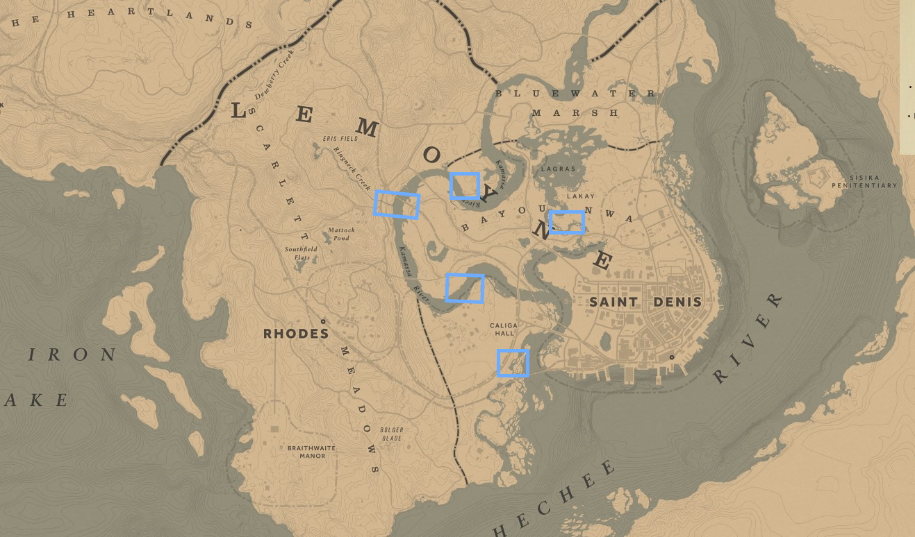 Oleander Sage Locations in Red Dead Redemption 2