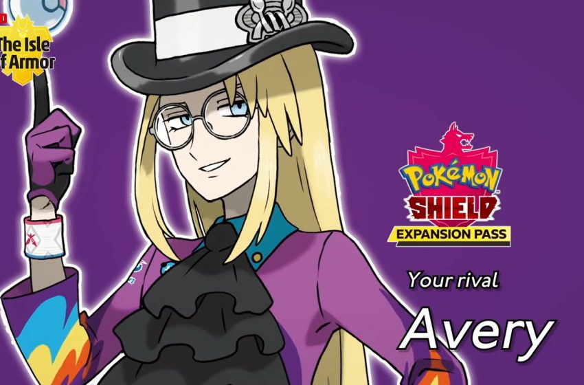 Avery from Pokemon Sword and Shield DLC