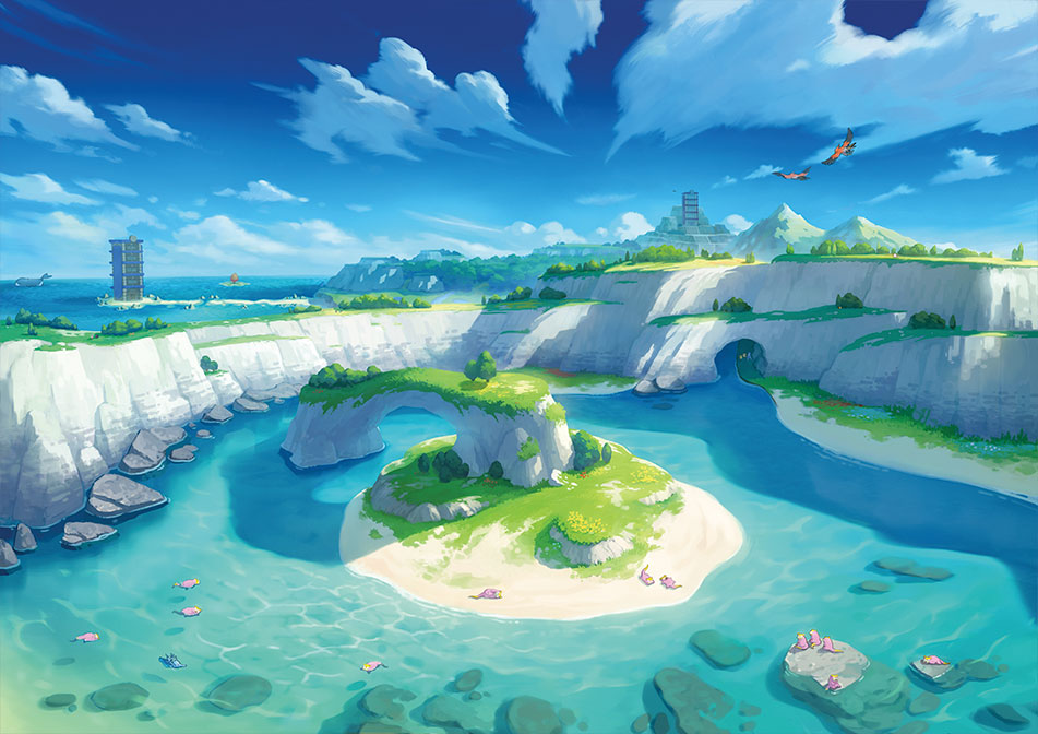 Isle of Armor in Pokémon Sword and Shield