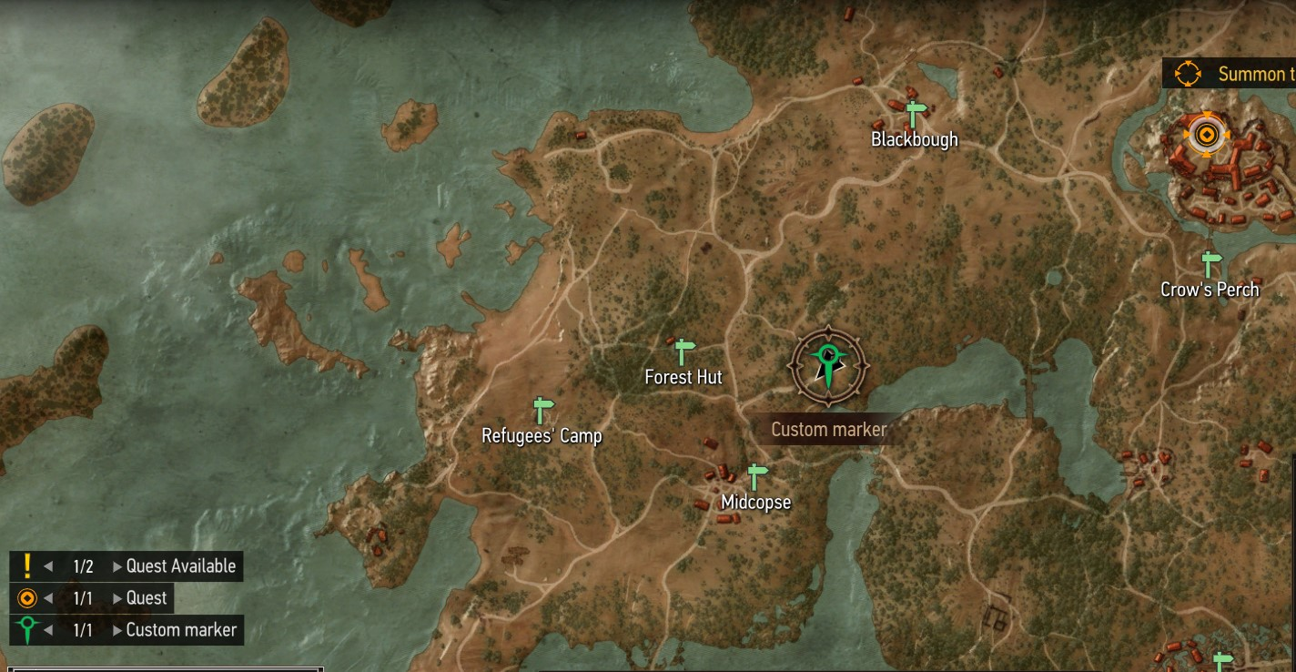 Keira Metz Location in The Witcher 3: Wild Hunt