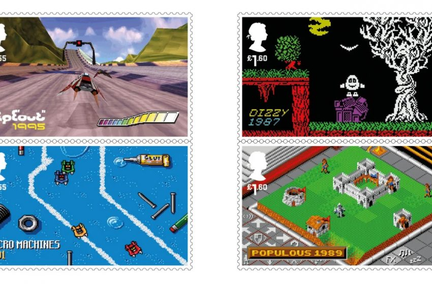 Video Game Character Stamps