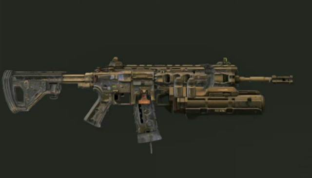 ICR with Grenade Launcher (Assault Rifle)