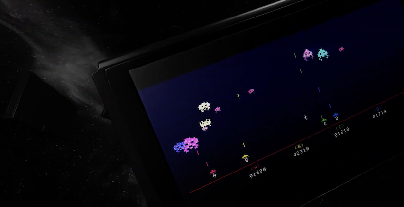 Space Invaders Invincible Collection Switch