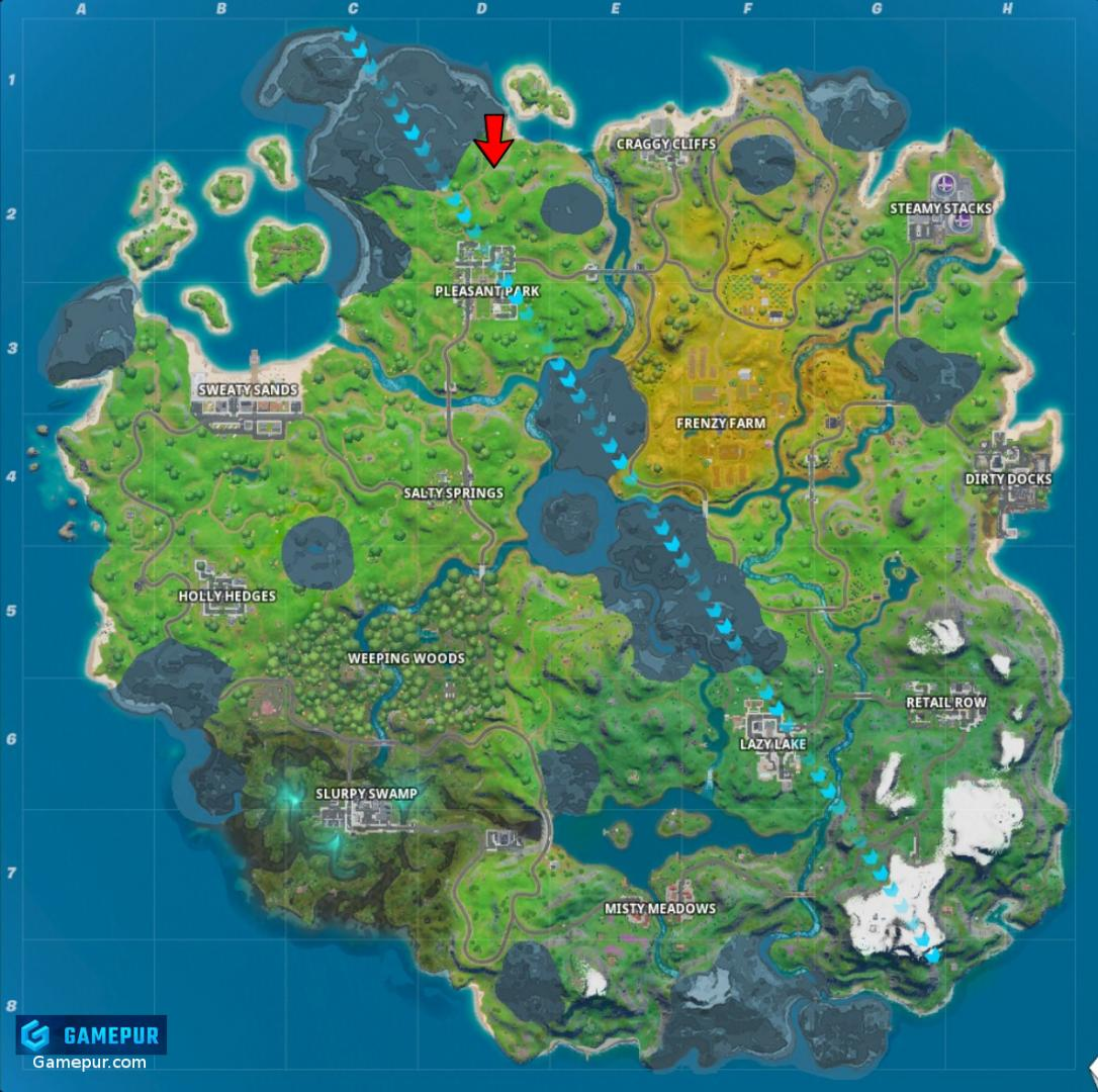 Ice Throne Location Fortnite
