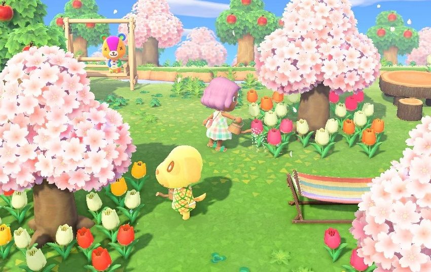 How to get Cherry Blossom Petals in Animal Crossing: New Horizons