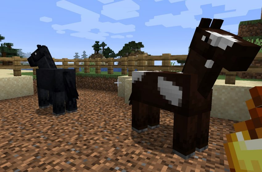 How to Breed Horses in Minecraft