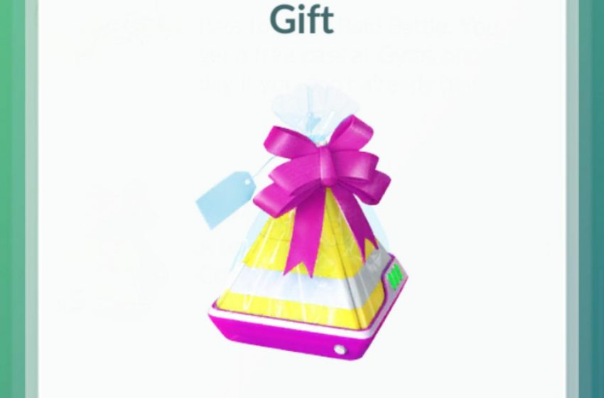 Get and Use Gifts Pokémon GO