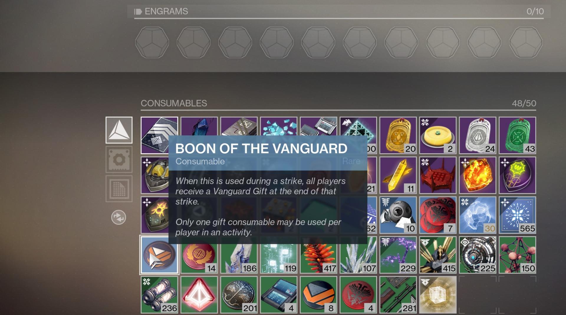 Boon of the Vanguard