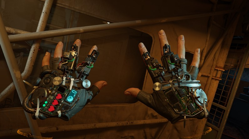 "Half-Life: Alyx Gameplay Shows Off ""Force Pull"" Gravity Gloves"