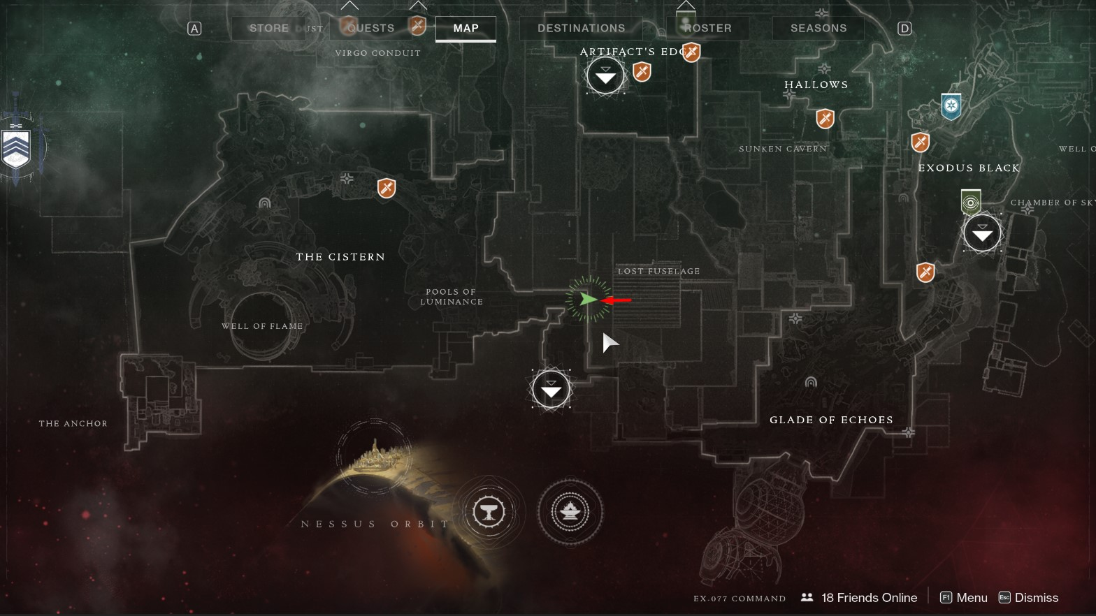 Saint-14 Ghost Location