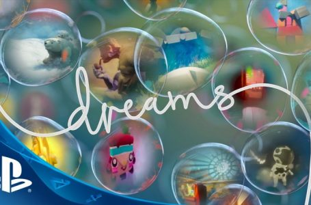 Dreams getting VR-friendly level creation tools in free update next month