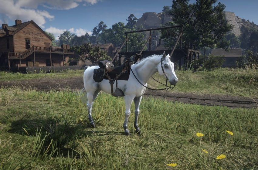 Red Dead Redemption 2 Elite Arabian Horse Location
