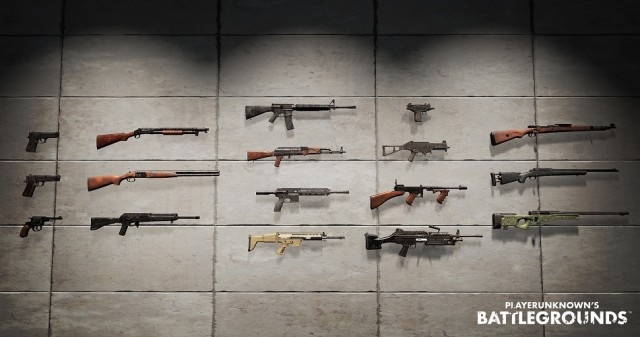 PUBG Weapons Stats Upgrades