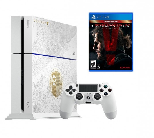 PS4 500GB Destiny: The Taken King Special Edition With MGS V: The Phantom Pain For $399 At Amazon