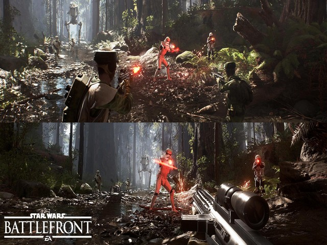 Star Wars: Battlefront II Xbox One X Screenshot In 4K And HDR Enabled