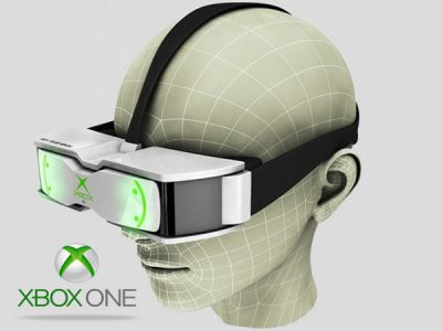 Xbox One virtual reality headset