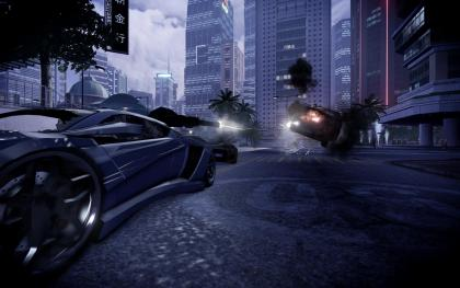 Sleeping Dogs: Wheel of Fury DLC screens out, shows Cars, Bikes and Explosion