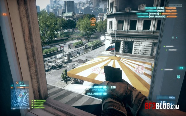 Battlefield 3 vs Crysis 2 screenshots comparison