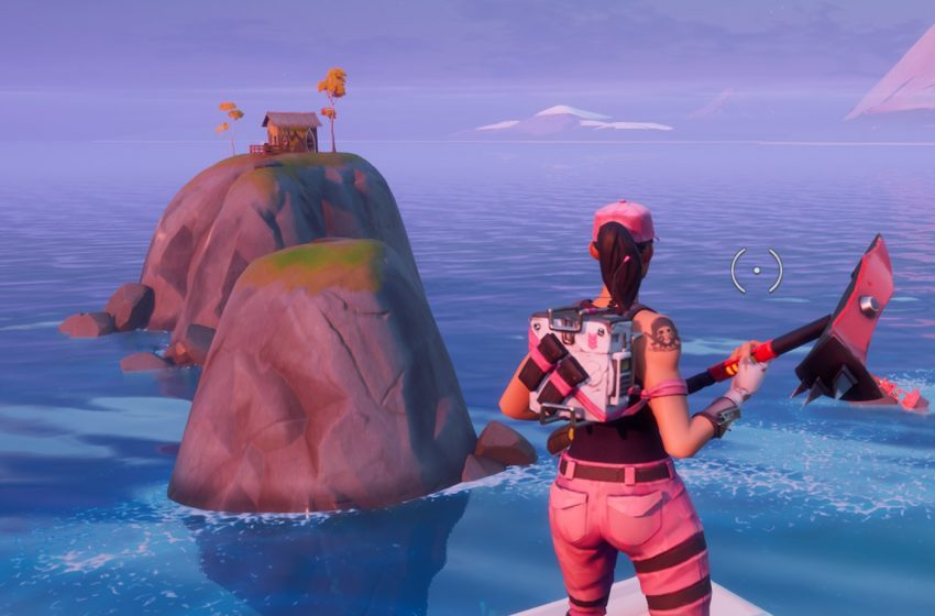 How to visit Coral Cove, Stack Shack, and Crash Site without swimming in a single match in Fortnite