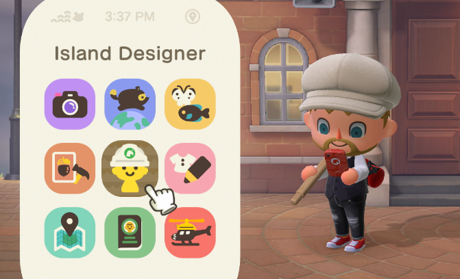 How to unlock the Island Designer App to create Paths and Landscape (Terraform) your Island in Animal Crossing: New Horizons